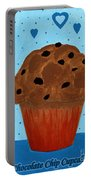 Chocolate Chip Cupcake Portable Battery Charger