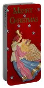 Christmas Angel Portable Battery Charger by Aimee L Maher Photography and Art Visit ALMGallerydotcom