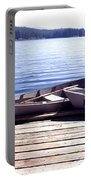 Clear Lake At Mckenzie Pass Portable Battery Charger
