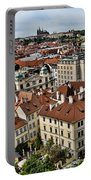 Clock Tower View - Prague Portable Battery Charger