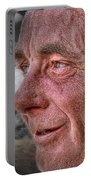 Close-up Profile Robert John K. Portable Battery Charger