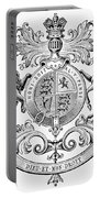 Coat Of Arms: Great Britain Portable Battery Charger