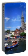 Cobh Cathedral & Harbour, Co Cork Portable Battery Charger
