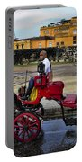 Colonial Buildings In Old Cartagena Colombia Portable Battery Charger by David Smith