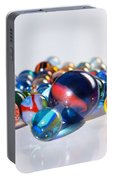 Colorful Marbles Portable Battery Charger