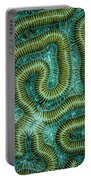Coral Design Portable Battery Charger