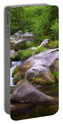 Creek Portable Battery Charger by Carlos Caetano