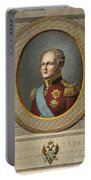 Czar Alexander I Of Russia Portable Battery Charger