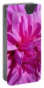Dahlia Named Lilac Time Portable Battery Charger