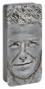 David Beckham In 2009 Portable Battery Charger