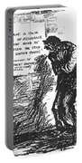 Depression Cartoon, 1932 Portable Battery Charger