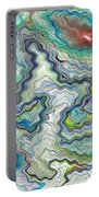 Digital Abstract Portable Battery Charger