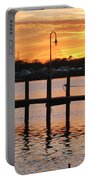 Dock Sunset Portable Battery Charger