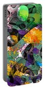 Dont Fall On The Road 3d Abstract I Portable Battery Charger