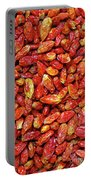 Dried Chili Peppers Portable Battery Charger