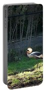 East African Crowned Crane Portable Battery Charger