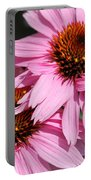 Echinacea Purpurea Or Purple Coneflower Portable Battery Charger