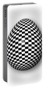 Egg Checkered Portable Battery Charger