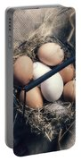 Eggs Portable Battery Charger by Joana Kruse