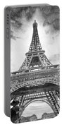 Eiffel Tower Paris France Portable Battery Charger