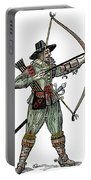 English Archer, 1634 Portable Battery Charger