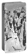 Eroded Sandstone Cliffs Portable Battery Charger
