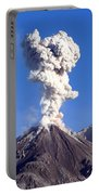 Eruption Of Ash Cloud From Santiaguito Portable Battery Charger