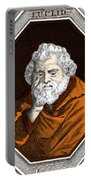 Euclid, Ancient Greek Mathematician Portable Battery Charger