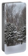 Evergreen Trees Portable Battery Charger
