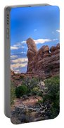 Eye View Of Arches Portable Battery Charger