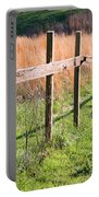 Fence Perspective Portable Battery Charger