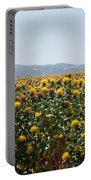 Fields Of Safflowers Portable Battery Charger