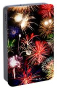 Fireworks Medley Portable Battery Charger