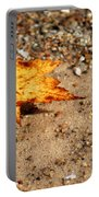 Floating Autumn Leaf Portable Battery Charger