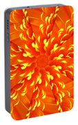 Floral Sunrise Portable Battery Charger