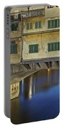 Florence - Ponte Vecchio Portable Battery Charger by Joana Kruse