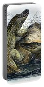 Florida Alligators Portable Battery Charger
