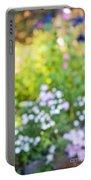 Flower Garden In Sunshine Portable Battery Charger