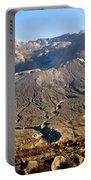 Flowers On Mount St. Helens Portable Battery Charger