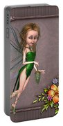 Forest Fairy In The Garden Portable Battery Charger