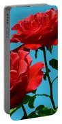 Forests Flowers Portable Battery Charger