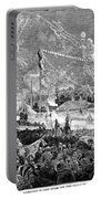 Fourth Of July, 1876 Portable Battery Charger