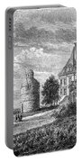 France: Wine Ch�teau, 1868 Portable Battery Charger