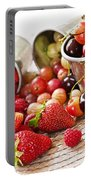 Fruits And Berries Portable Battery Charger