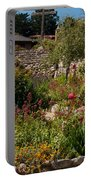 Gardens In Carmel Monastery Portable Battery Charger