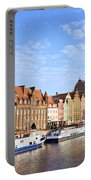 Gdansk Old Town In Poland Portable Battery Charger