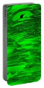 Gentle Giant In Negative Green Portable Battery Charger
