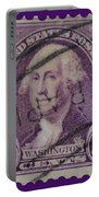 George Washington Postage Stamp Portable Battery Charger