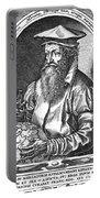 Gerardus Mercator, Flemish Cartographer Portable Battery Charger