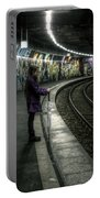 Girl In Station Portable Battery Charger
